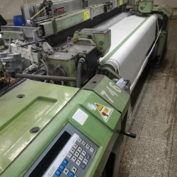 25 x G6200 SULZER WEAVING LOOMS, 200cm, yoc 1999, 6 colors, 20 shafts