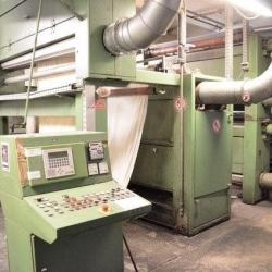 Singeing machine OSTHOFF type PK 90  yoc: 1991