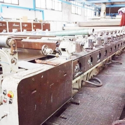Reggiani rotary printing machine, w.width 3200mm,  -year 1985-1988, reconditioned in 2000, - 11 colours / cylinders , with magnet roller.